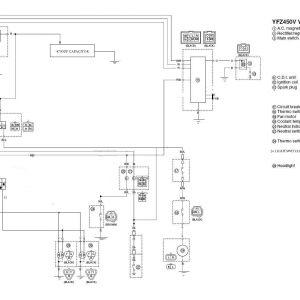 2004 Yfz 450 Wiring Diagram - Yamaha Yfz 450 Wiring 14h