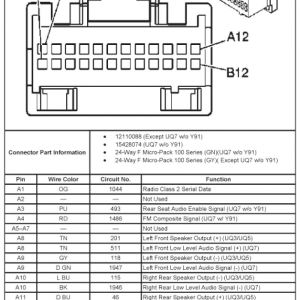 Chevy Silverado Radio With Swc Wiring Diagram on