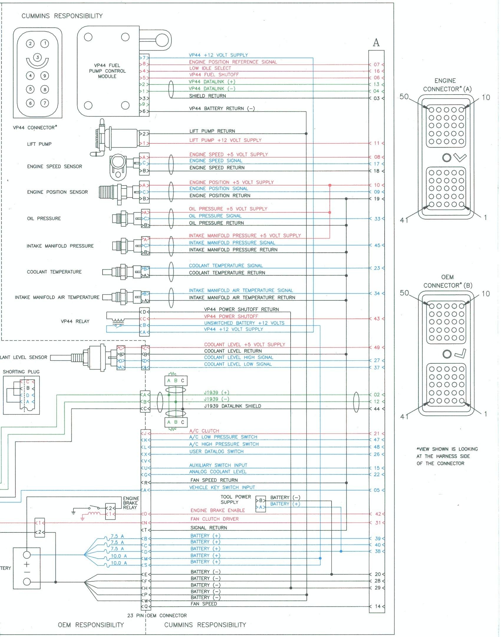2005 Dodge Cummins Ecm Wiring Diagram