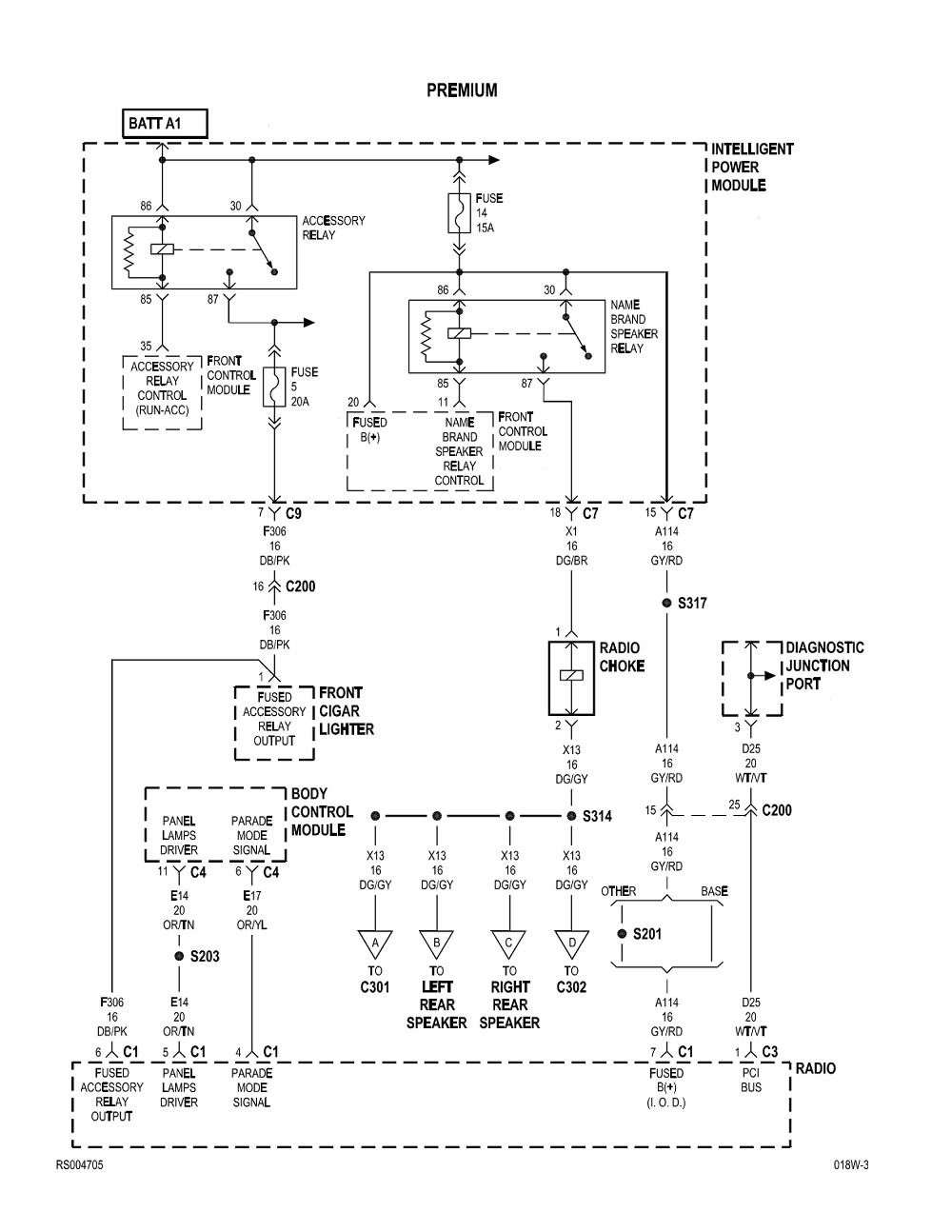 2005 Dodge Caravan Wiring Diagram