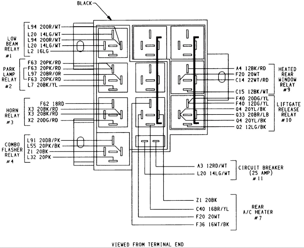 2005 dodge caravan radio wiring diagram 2005 dodge grand caravan wiring diagram | free wiring diagram
