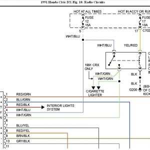 2005 Honda Civic Stereo Wiring Diagram - Eg Civic Radio Wiring Block and Schematic Diagrams U2022 Rh Wiringdiagramnet today 91 Honda Civic Dx 1m