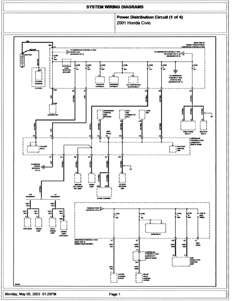 99 Honda Cr V Wiring Diagram