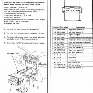 2005 Honda Element Stereo Wiring Diagram - 2003 Honda Accord Stereo Wiring Diagram Obd1 Engine Harness Diagram Honda Beautiful Honda Accord Stereo 12l