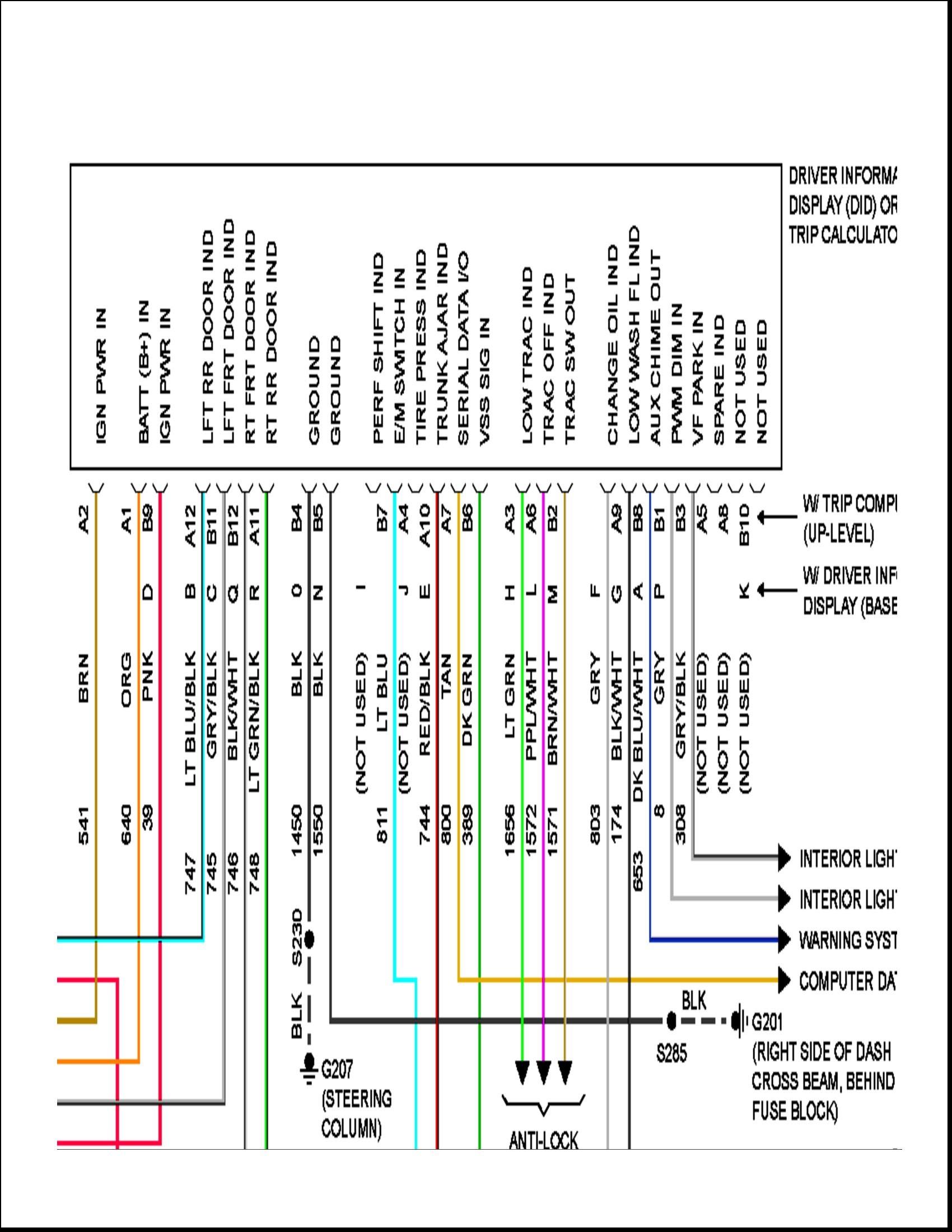 2005 pontiac grand prix radio wiring diagram Collection-1998 pontiac radio wiring explore schematic wiring diagram u2022 rh webwiringdiagram today 1998 pontiac grand prix 15-o