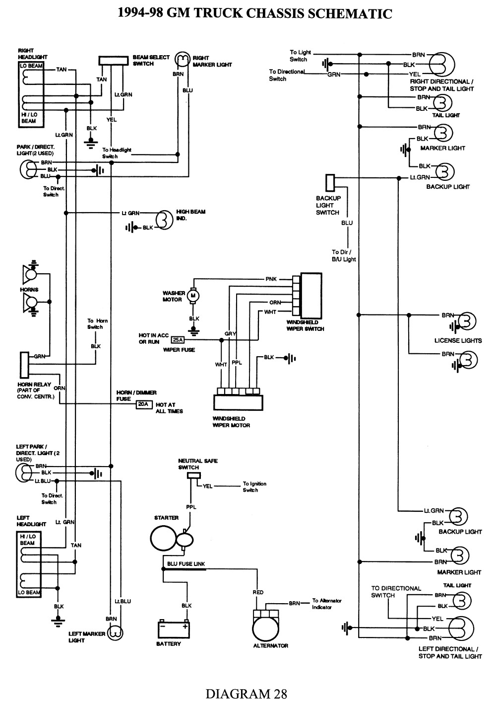 Diagram For 2006 Wiring
