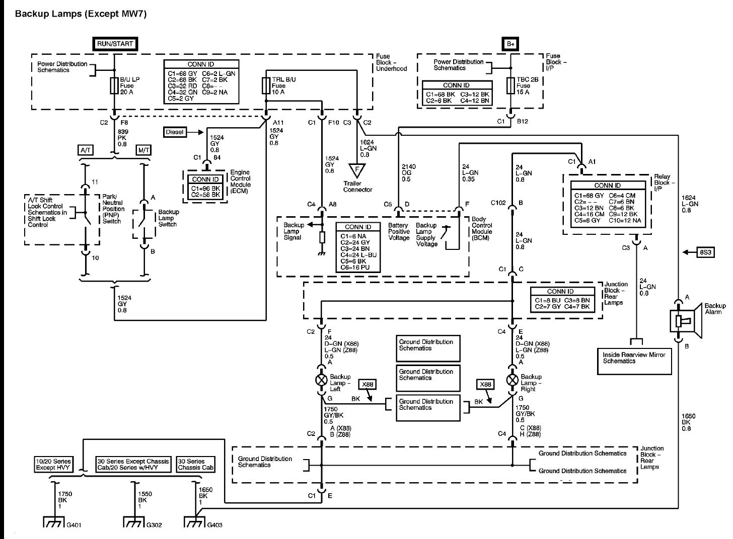 wiring diagram gmc 7 plug truck wiring diagram gmc