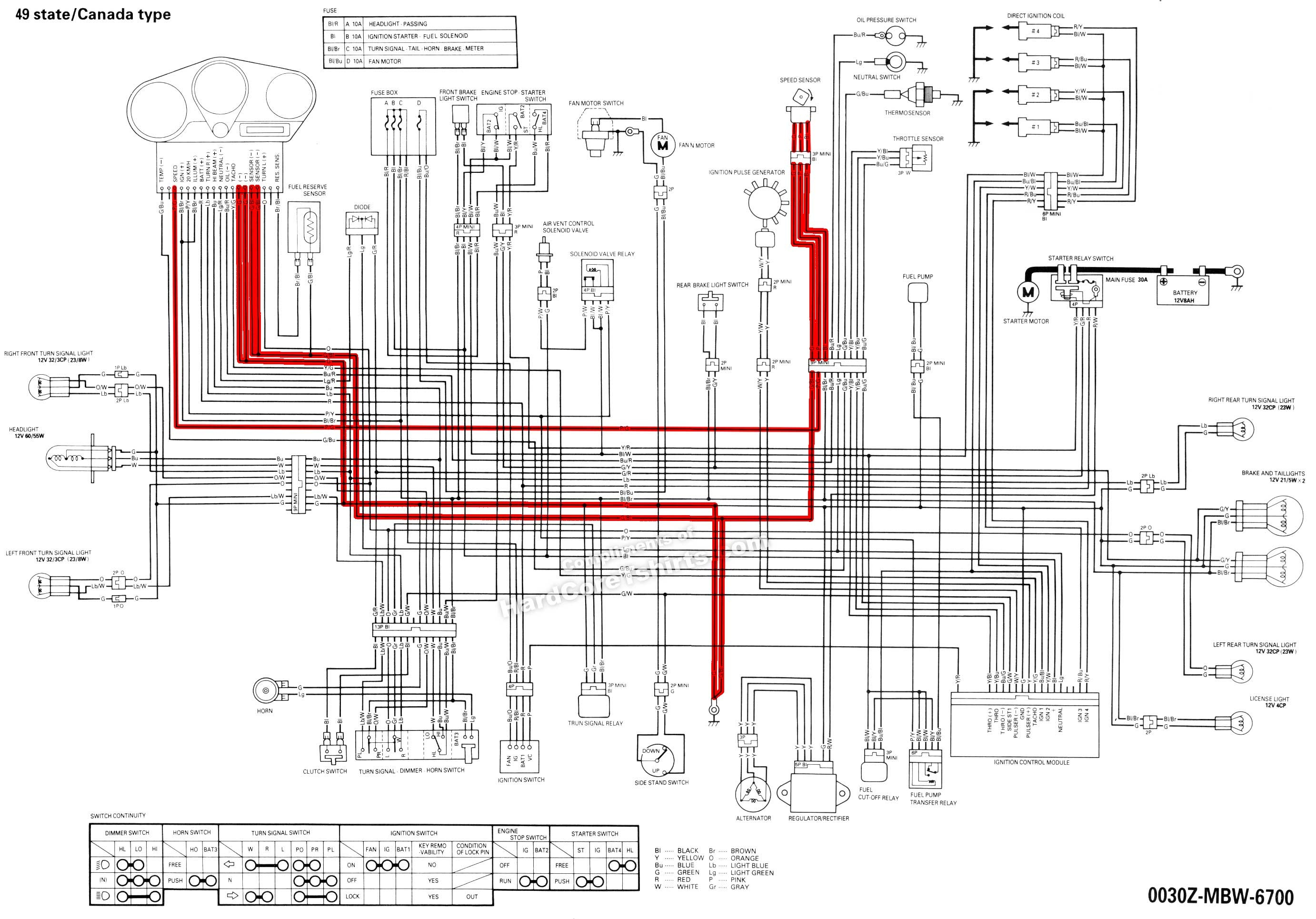 2006 honda cbr600rr wiring diagram Collection-2003 cbr600rr wiring diagram Download 2004 cbr 1000 wire diagram wiring diagram motorcycle ignition wiring 8-l