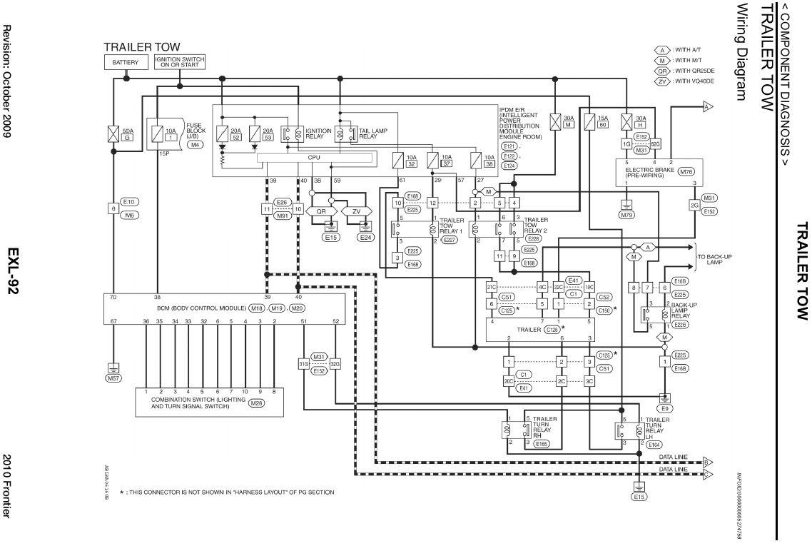 2006 Nissan Frontier Trailer Wiring Diagram | Free Wiring ... on