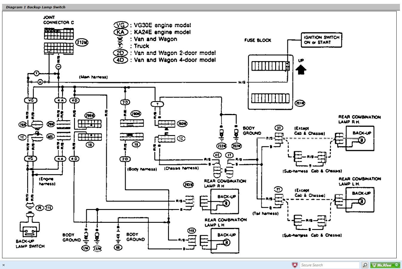 2006 Nissan Frontier Trailer Wiring Diagram | Free Wiring ...