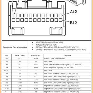 chevy silverado radio wiring harness diagram