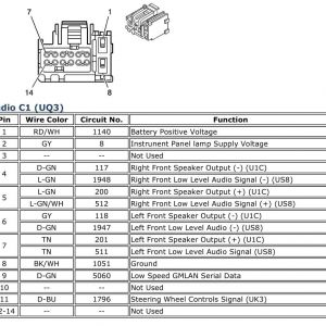 Gm Radio Wiring Diagram 07 - Schematics Online on
