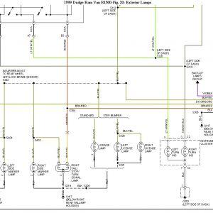 2007 Dodge Ram 1500 Brake Light Wiring Diagram - 99 Dodge Ram 2500 Wiring Diagram Electrical Drawing Wiring Diagram • 11k