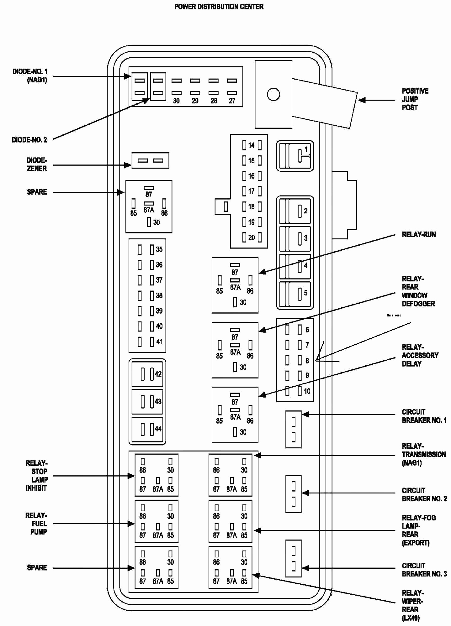 2008 dodge avenger wiring diagram