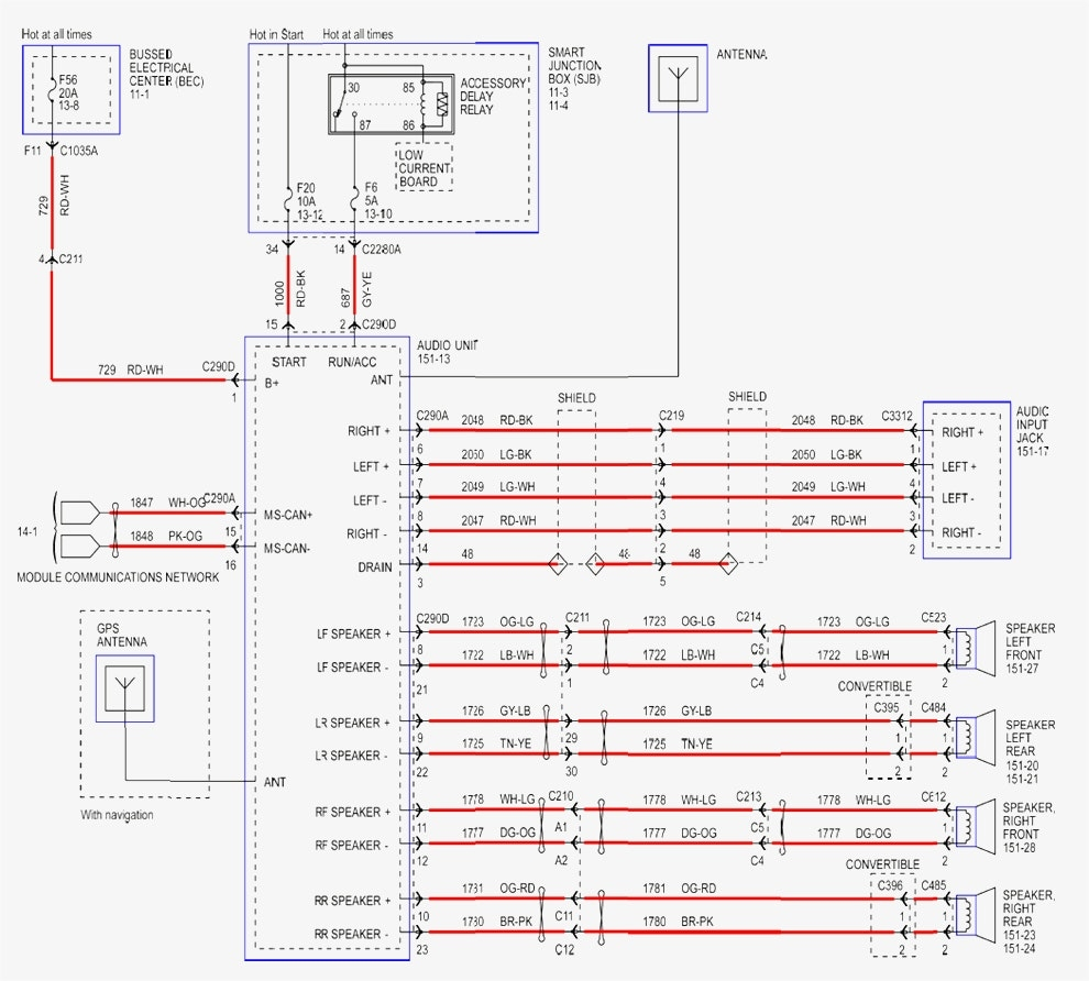 Wiring Diagram F250 Radio