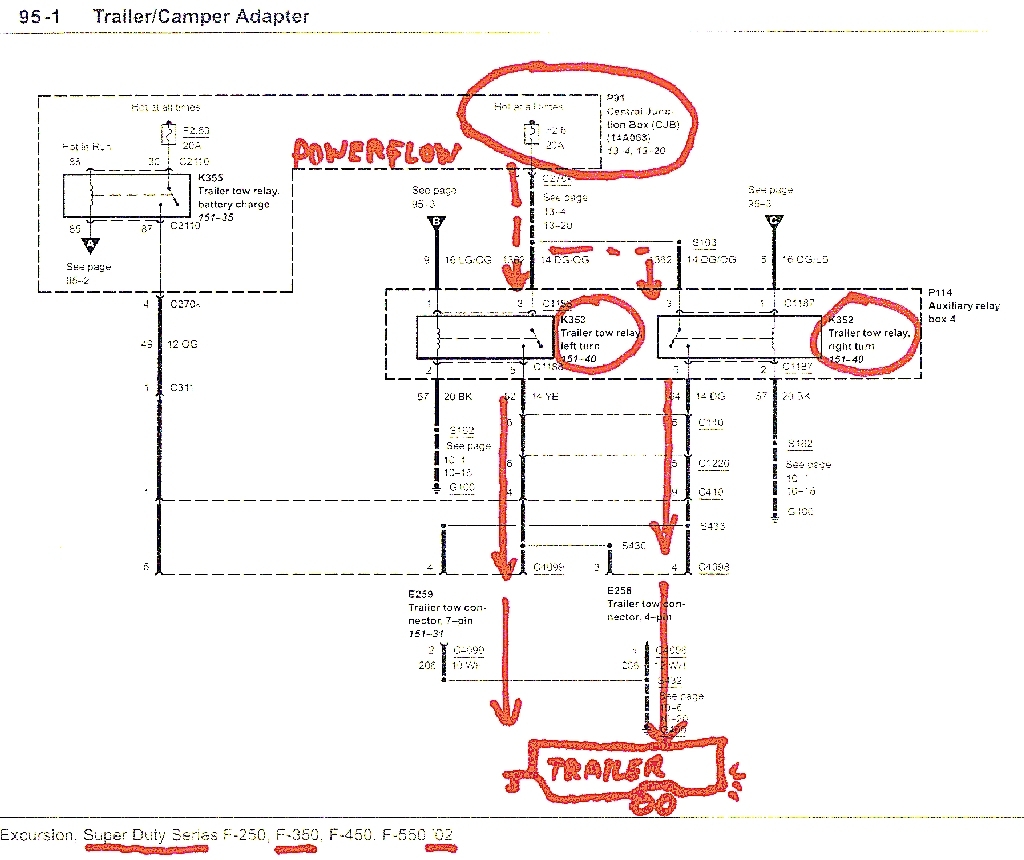 Diagram The Wiring Diagram For Ford F350