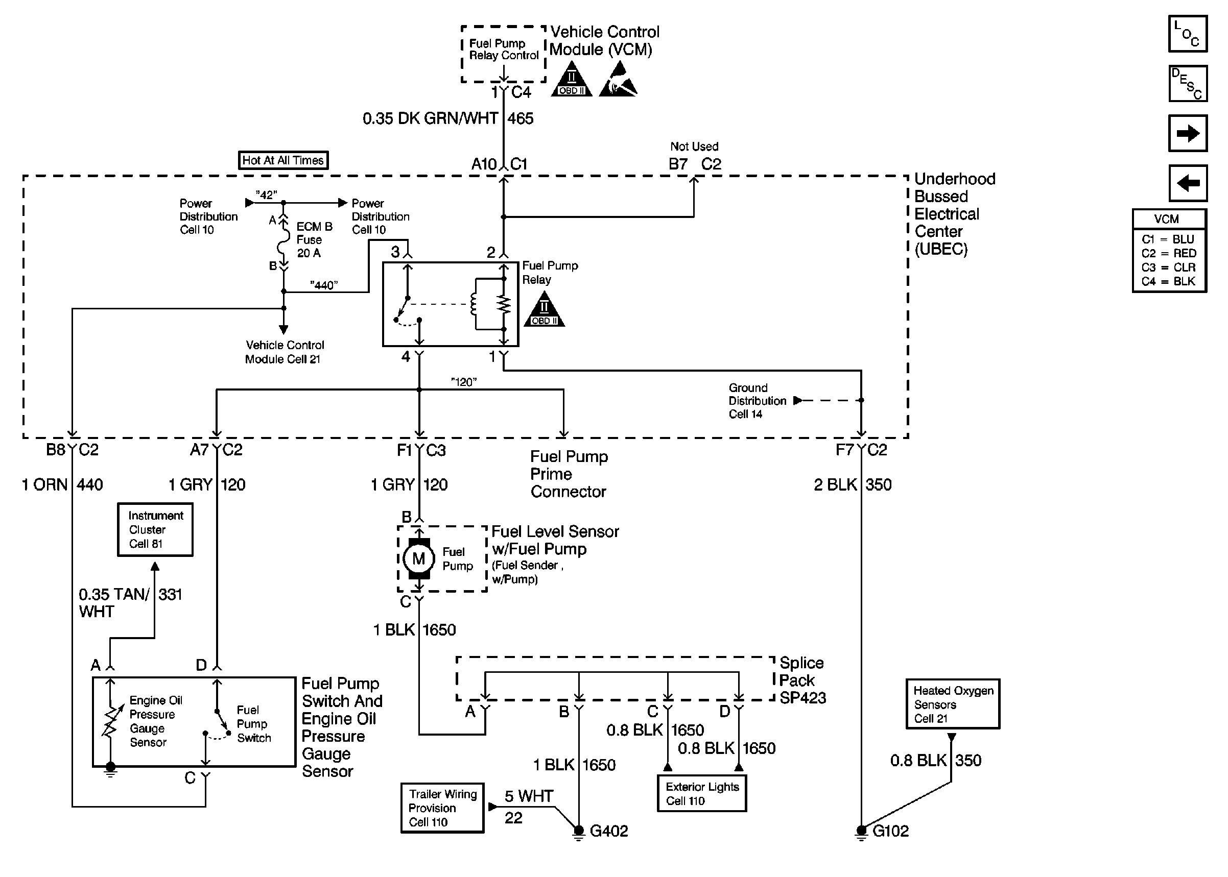 2009 Chevy Malibu Wiring Schematic