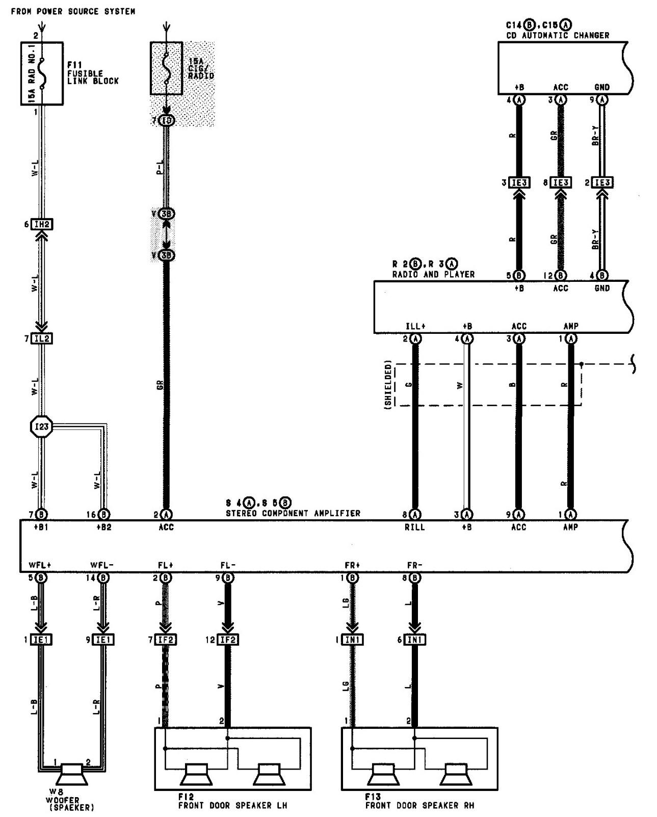 2009 Toyota Camry Radio Wiring Diagram