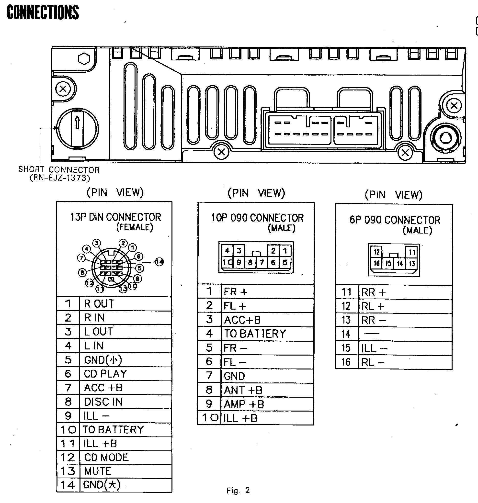 2010 Corolla Radio Wiring Diagram