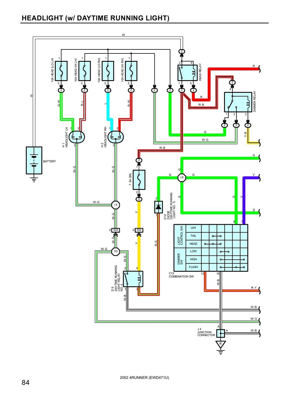 2002 Toyota Ta Wiring Diagrams