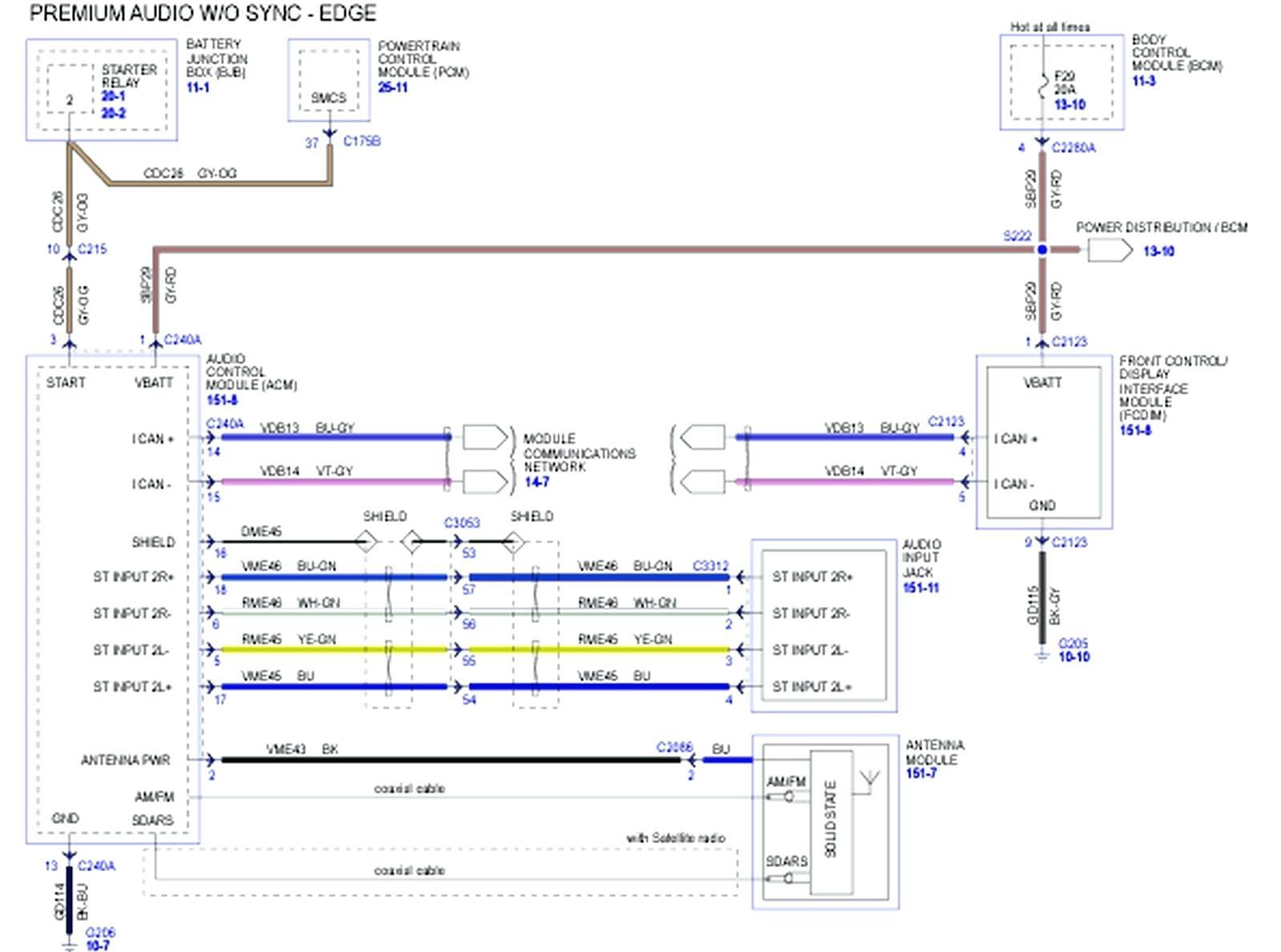 2016    ford Fusion    Wiring       Diagram      Free    Wiring       Diagram