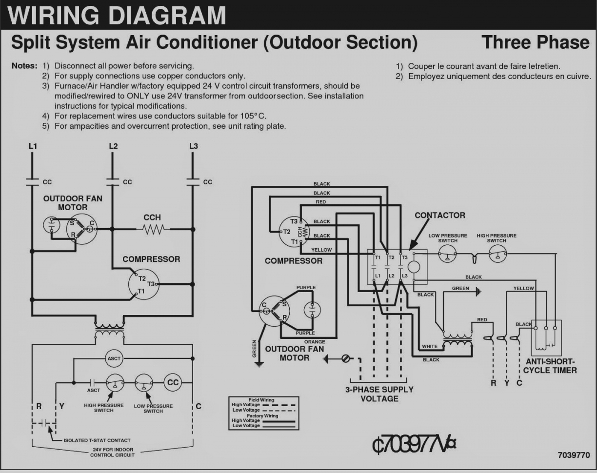 220 volt air conditioner wiring diagram - split air conditioner wiring  diagram beautiful 3 phase ac