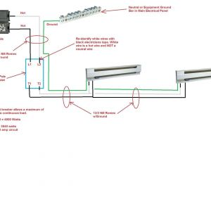 240v Heater Wiring Diagram - Wiring Diagram 240v Baseboard Heater thermostat Best Bright 220v 19p