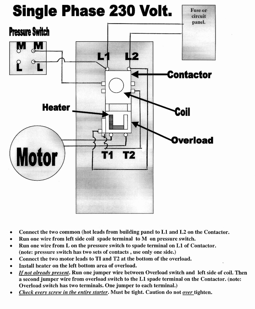 Marathon Motor Schematic: 240v Motor Wiring Diagram Single Phase