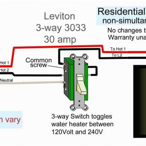 240v Water Heater Wiring Diagram - Wiring Diagram Dual Light Switch Inspirational Wiring Diagram for A Double Pole Light Switch Refrence Arresting 14n