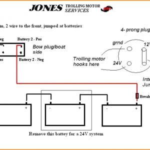24v Trolling Motor Wiring Diagram - 5 12 24 Volt Trolling Motor Wiring Diagram Car Cable 12t