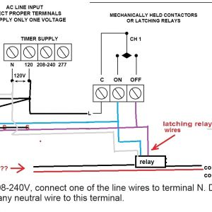 277 Volt Wiring Diagram - Lighting Contactor Wiring Diagram with Cell Wiring Diagram 277 Volt Wiring Diagram & 240 Volt 3b