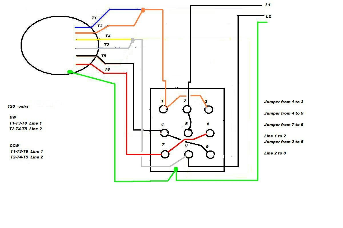 phase 6 3 wire motor wiring diagram 2 phase 3 wire motor wiring diagram