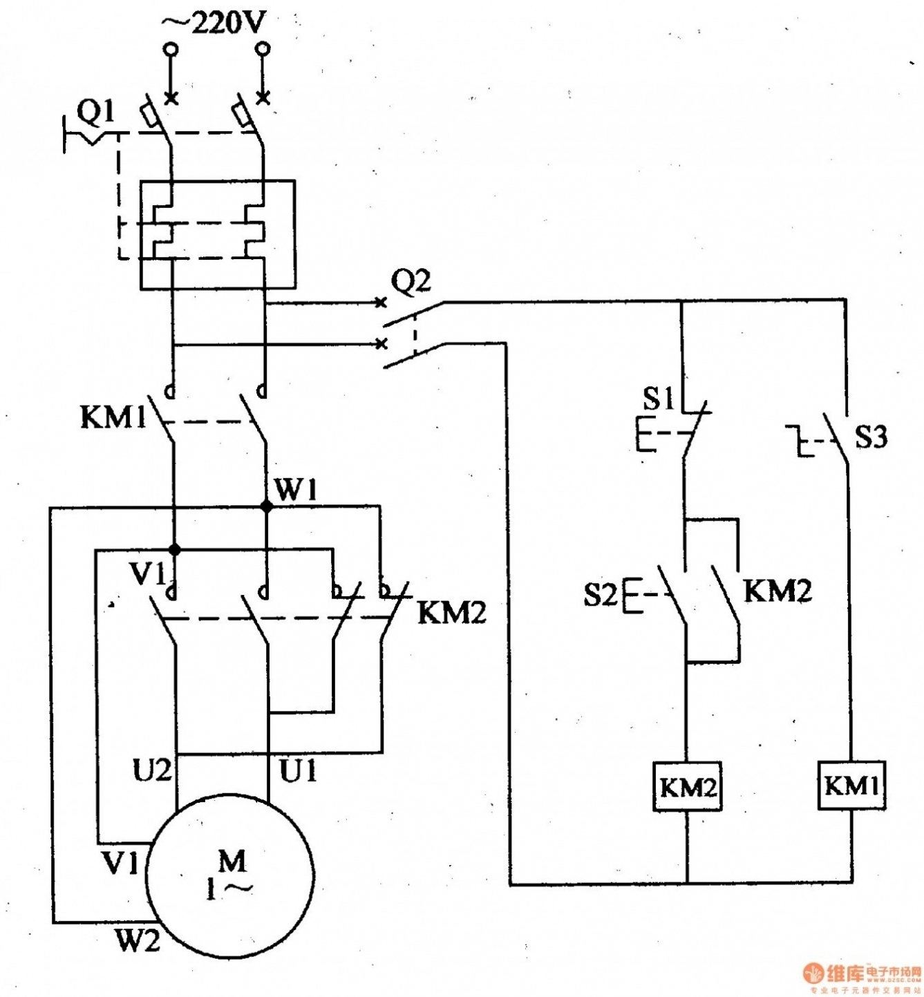 Marathon Motor Schematic: 3 Phase 6 Lead Motor Wiring Diagram
