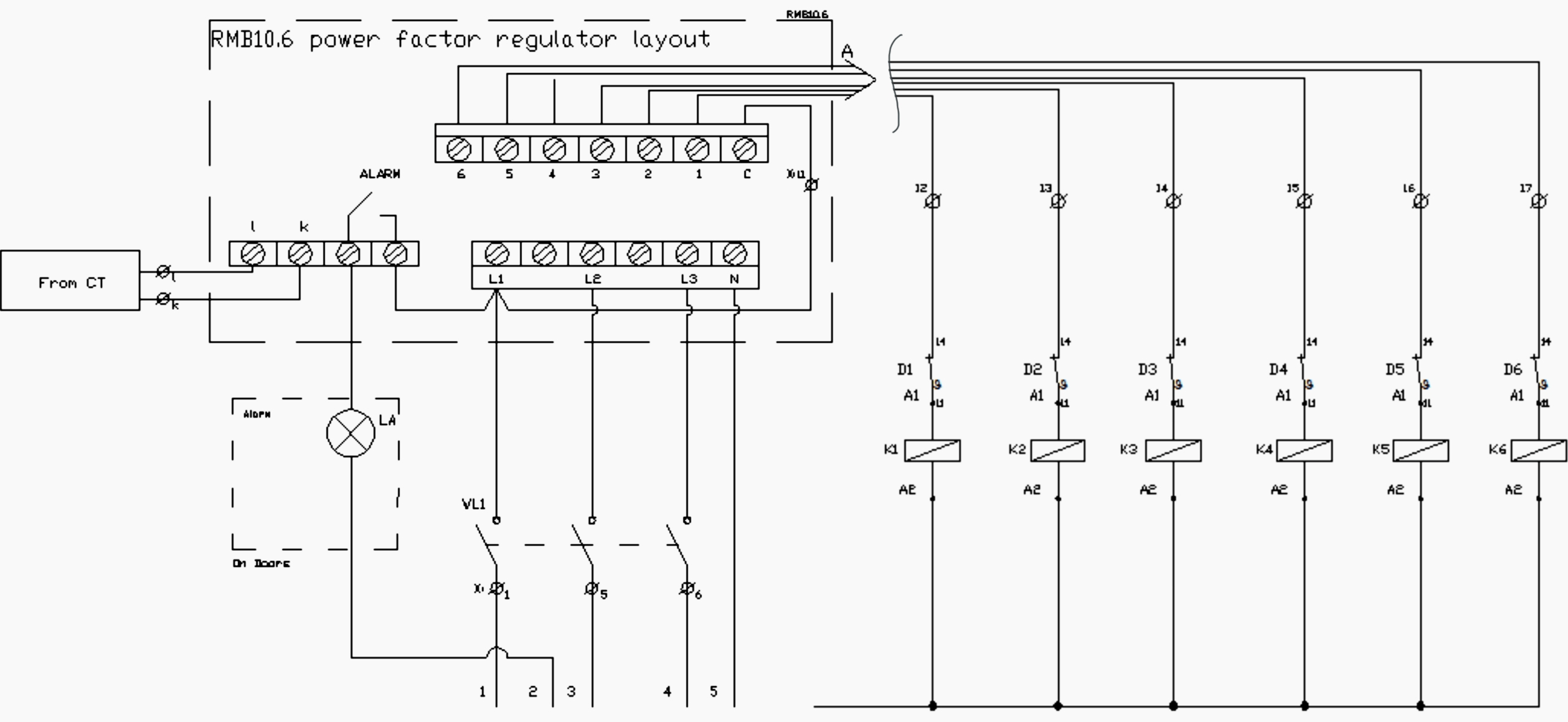3 phase capacitor bank wiring diagram Download-3 Phase Capacitor Bank Wiring Diagram Wiring Capacitor Bank Control Circuit 19-p