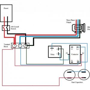 3 Phase Capacitor Bank Wiring Diagram - Wiring A Single Phase Motor to Drum Switch at and Capacitor Start Rh Autoctono Me 16q