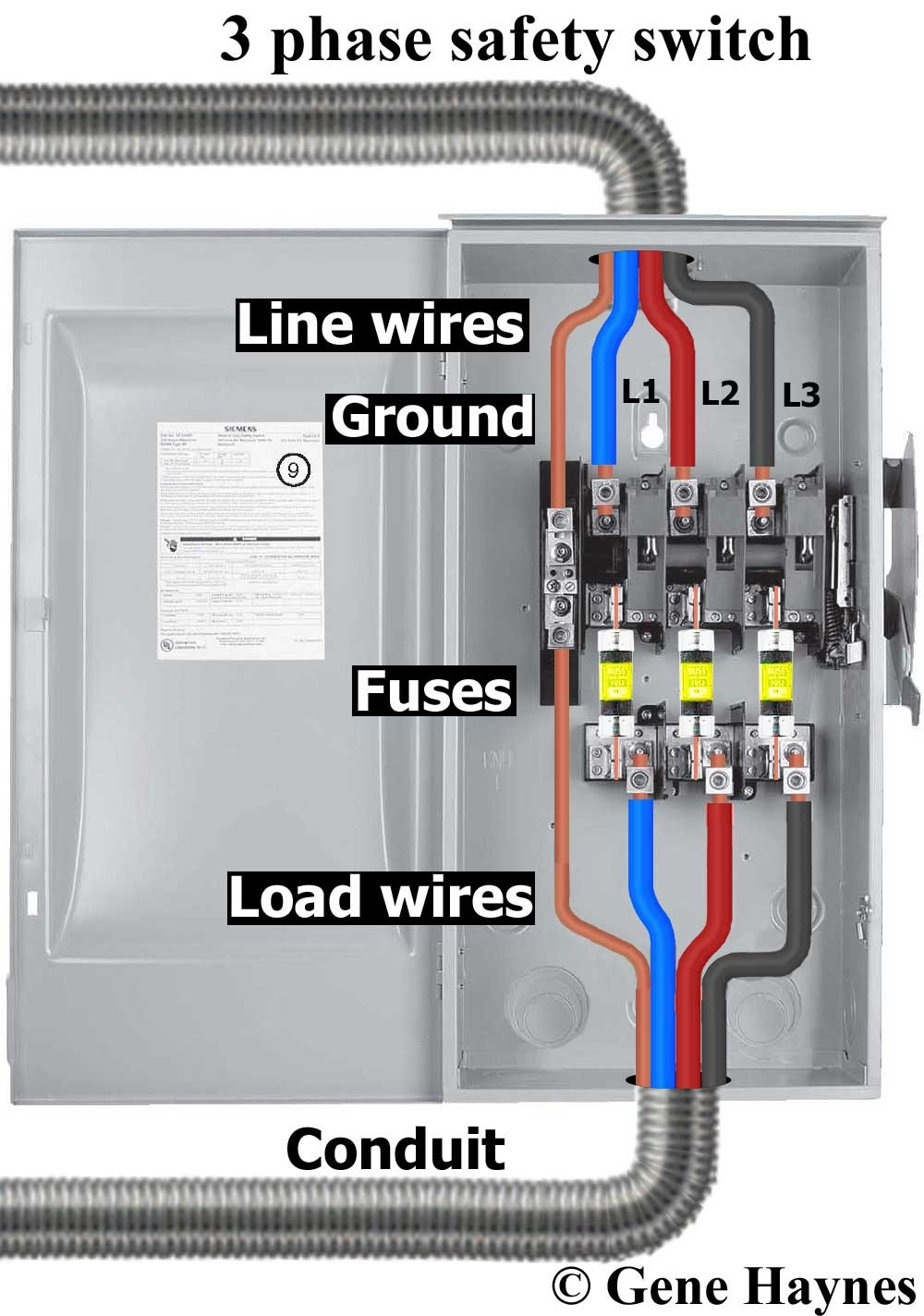 Service Disconnect Wiring Diagram