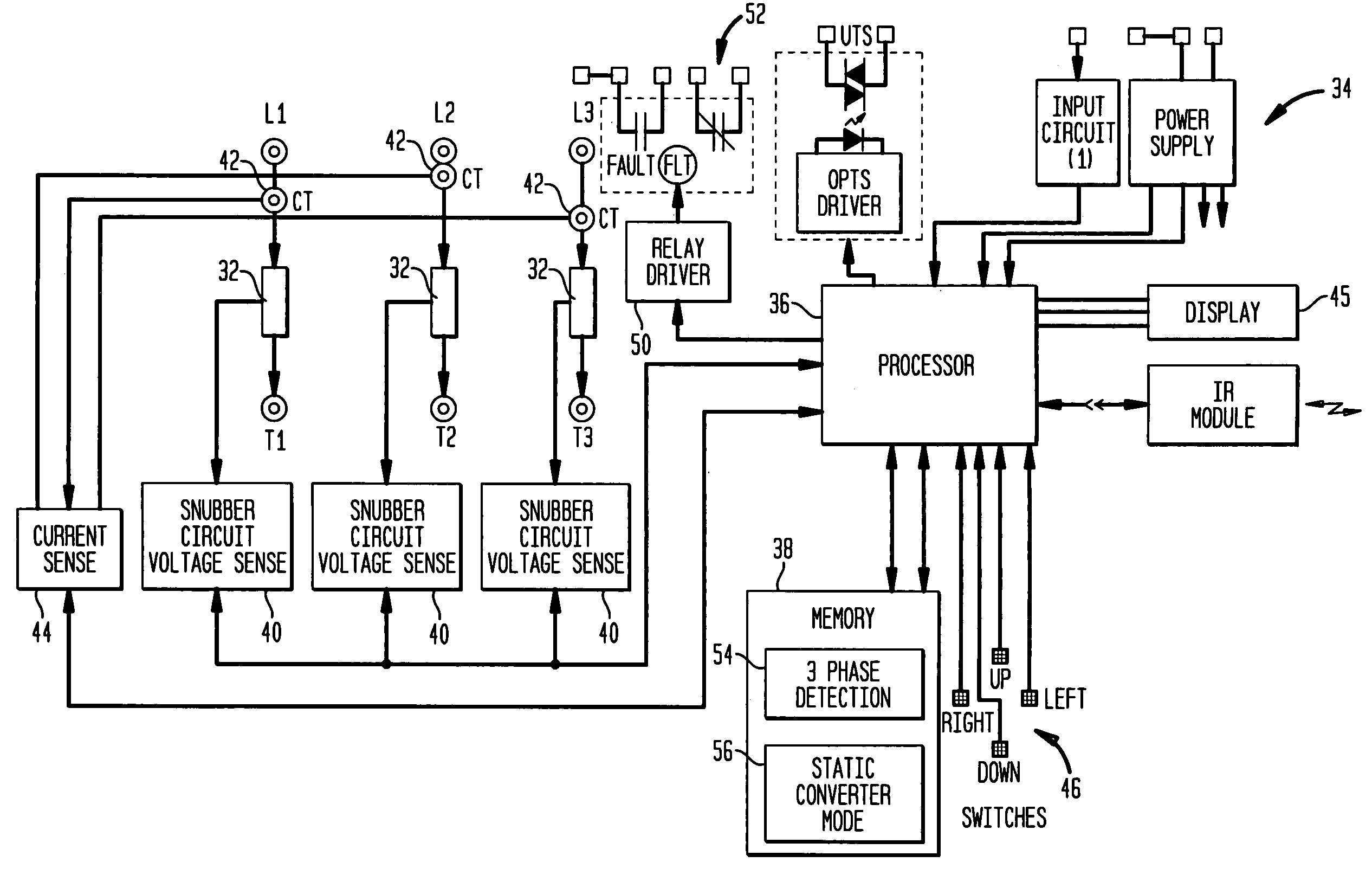 3 phase electric motor starter wiring diagram