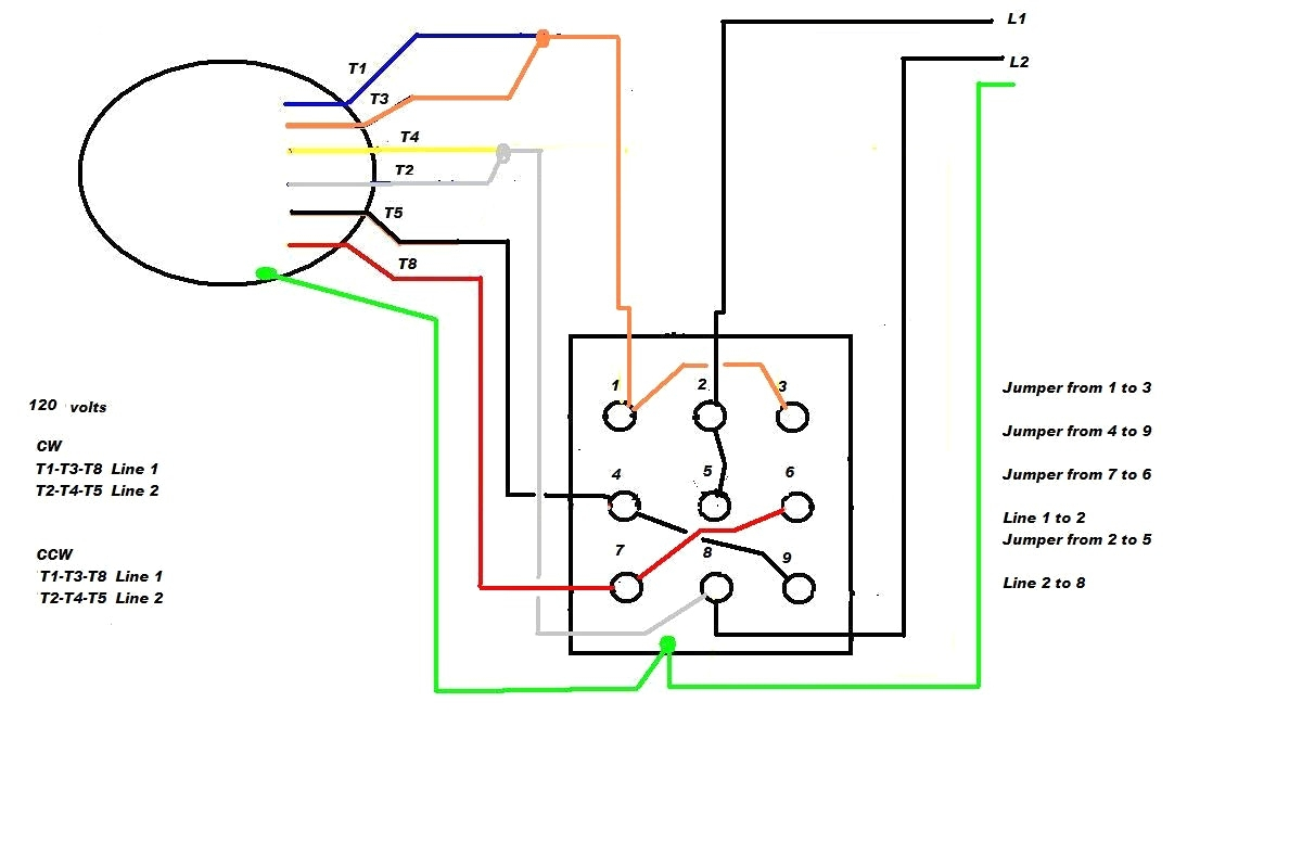 Diagram 3 Phase Motor Wiring Diagram 9 Leads