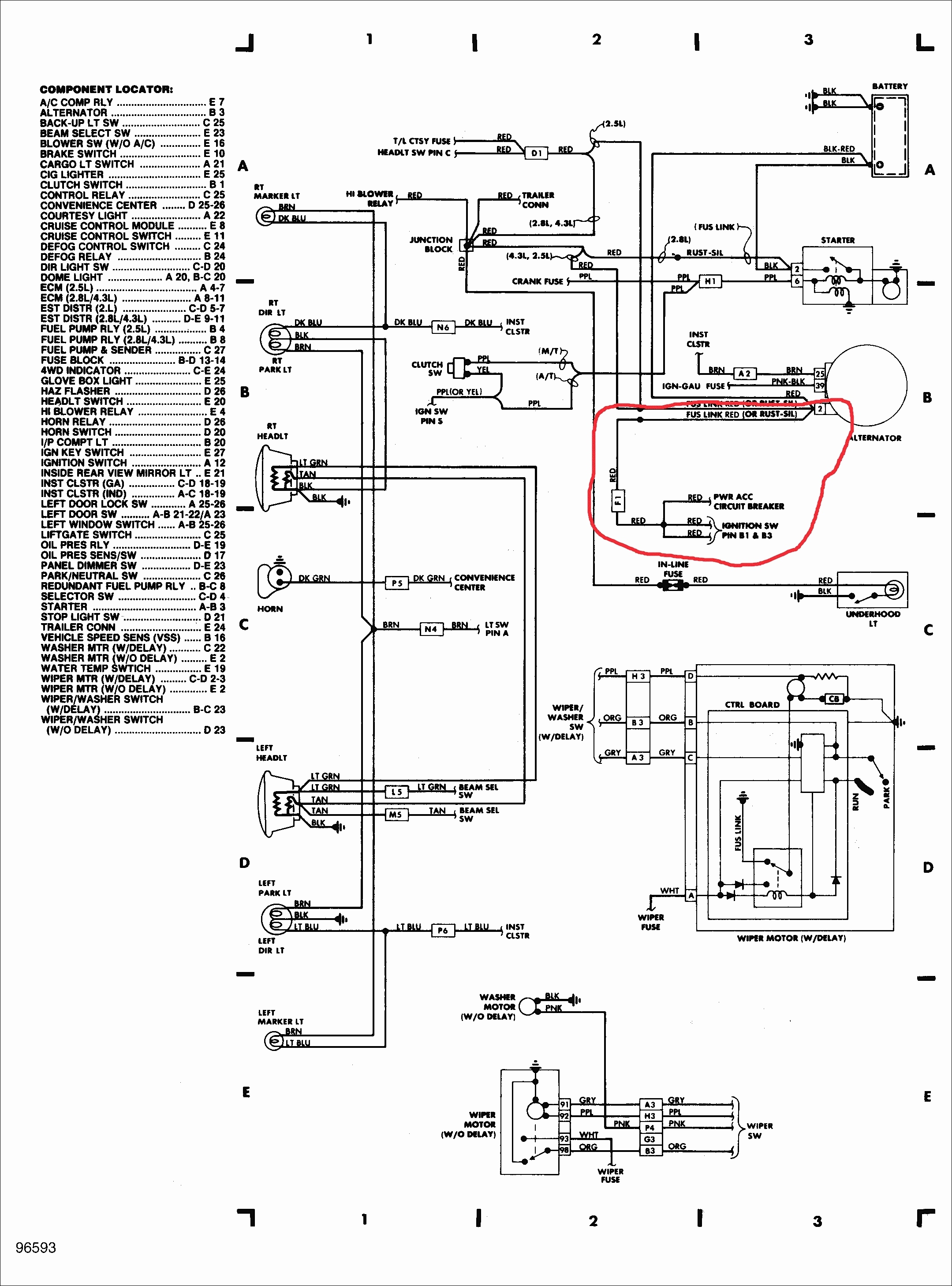 3 wire ignition switch schematic diagram 3 wire ignition switch diagram #1