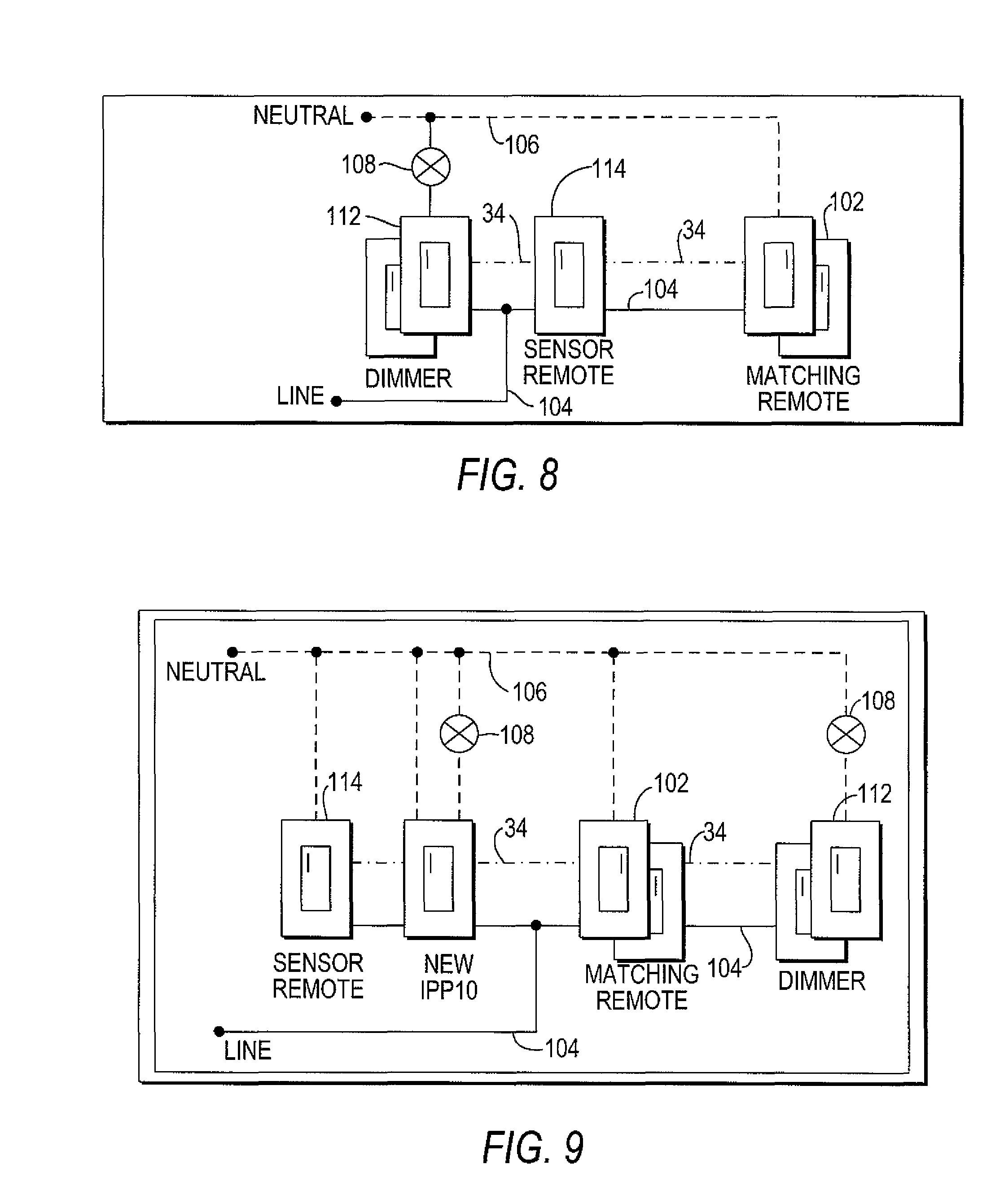 3 way motion sensor switch wiring diagram Collection-Patent Us Motion Sensor Switch for 3 Way Light Circuit New Patent Us Motion Sensor 18-s
