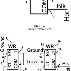 3 Way Motion Sensor Switch Wiring Diagram - Wiring Diagram for 3 Way Lamp Switch Inspirationa Patent Us Motion Sensor Switch for 3 Way 10l