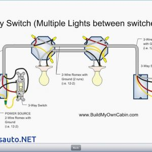 3 Way Switch Wiring Diagram Light In Middle - 5 Way Switch Wiring Diagram Light Arresting 16d