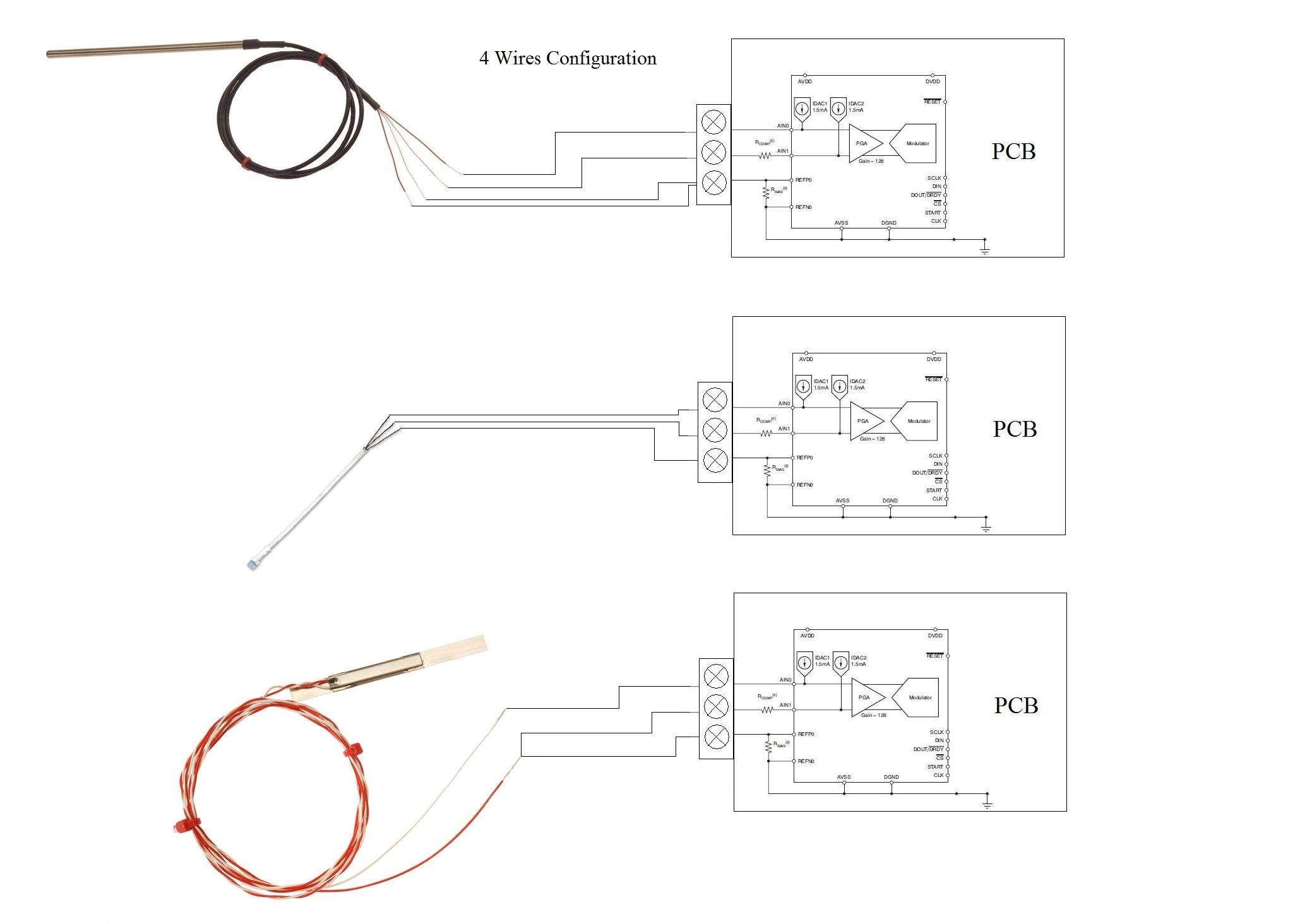 3 wire rtd wiring diagram Collection-3 Wire Rtd Wiring Diagram Unique Ads1148 Whit and Wires Precision Data Converters forum You Can 16-i