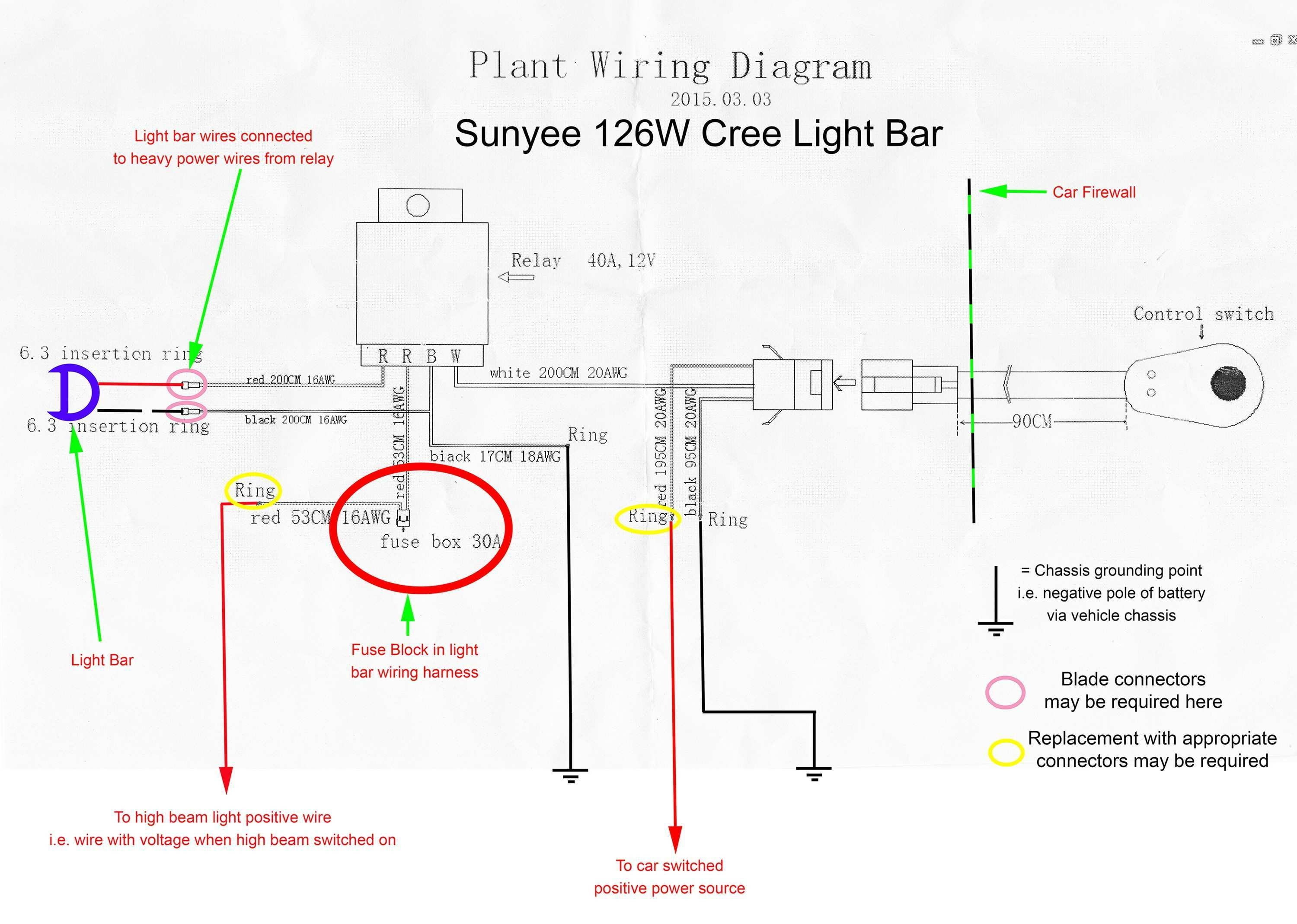 3 Wire Tail Light Wiring Diagram