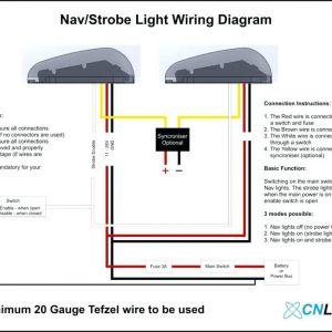 3 Wire Strobe Light Wiring Diagram - Strobe Light Wiring Diagram Collection New Boat Led Wiring Diagram Lights for Diagrams Free Download Download Wiring Diagram 16i