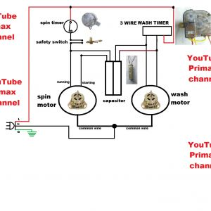 3 Wire Washing Machine Motor Wiring Diagram - Wiring Diagram for Washing Machine Fresh 3 Wier Timer Diagram Connection Simple Washing Machine Wiring 13n