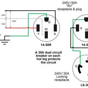 30 Amp Generator Plug Wiring Diagram | Free Wiring Diagram