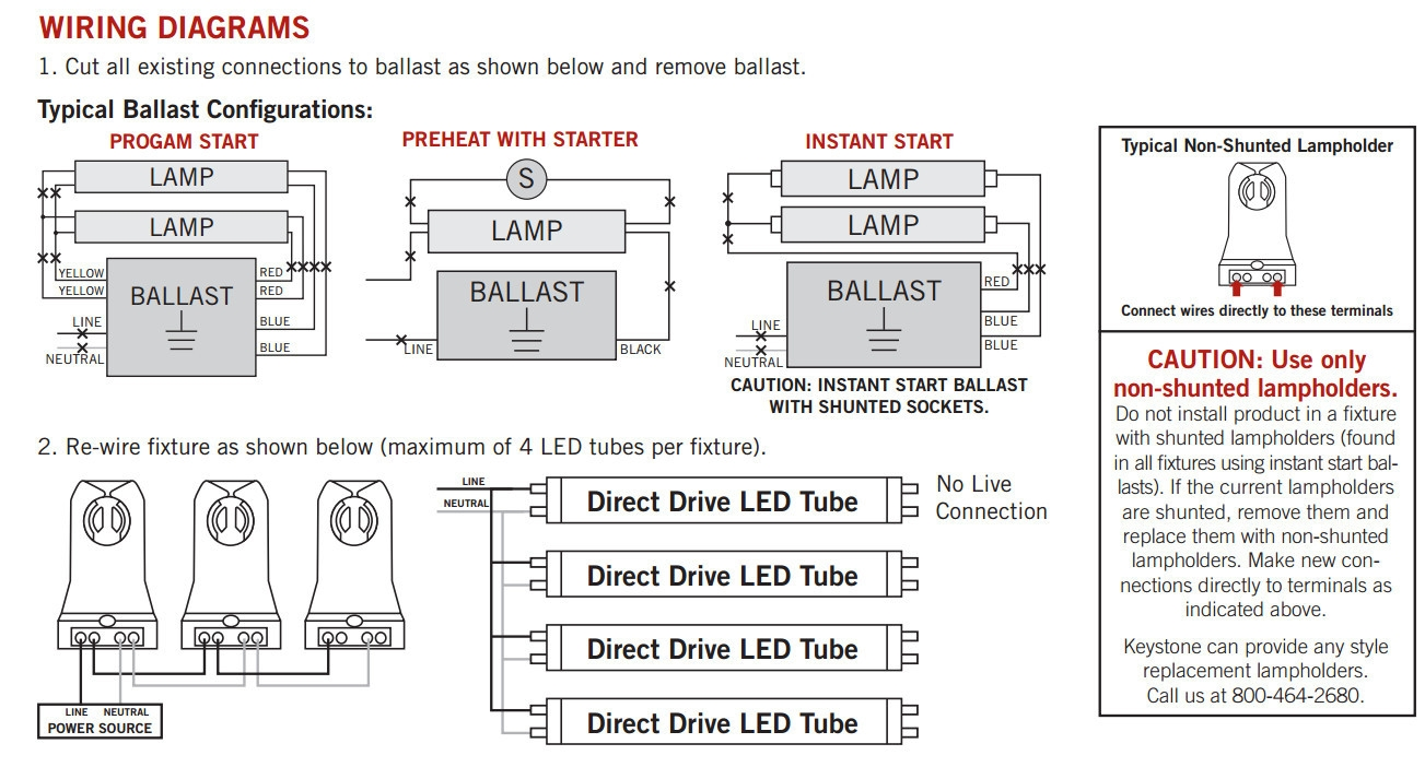 4 Light Ballast Wiring Diagram Parallel Detailed Diagrams Workhorse 8 Bulb Free Replacement