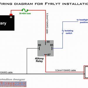 4 Prong Trailer Wiring Diagram - 4 Pin Relay Wiring Diagram Fresh 5 Pin Relay Wiring Diagram originalstylophone 10p