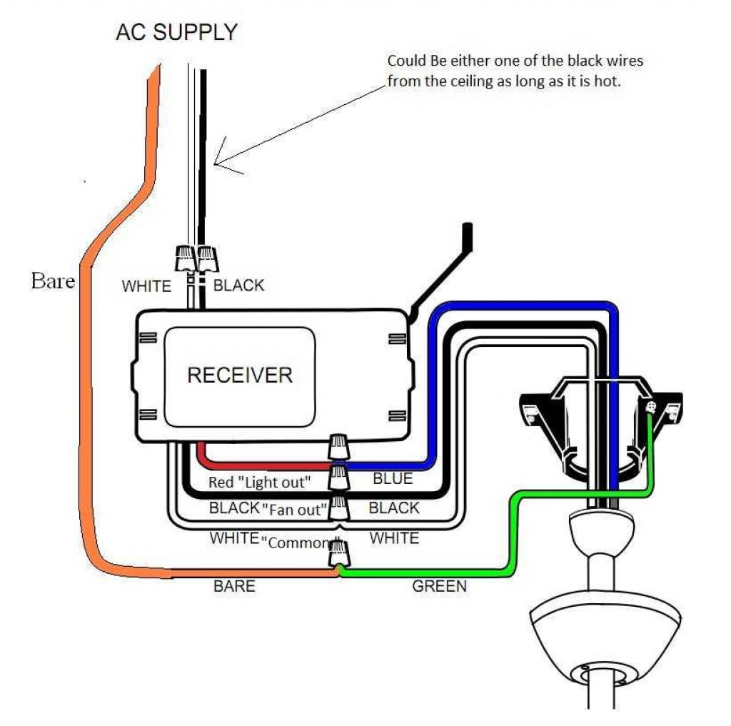 4 Wire Ceiling Fan Wiring Diagram